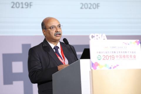 印度汽车轮胎制造商协会(ATMA)秘书长Rajiv Budhraja