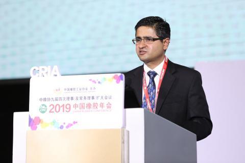埃克森美孚化工丁基橡胶北美市场开发经理Sujith Nair